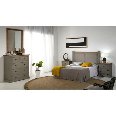 Dormitorio Rústico Bicolor