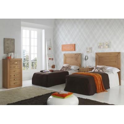 "Dormitorio Rústico Infantil ""TAMPICO"""