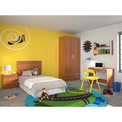 Dormitorio Juvenil Online Amarillo
