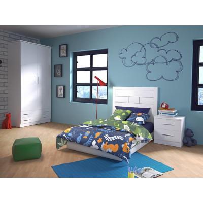 Dormitorio Juvenil Online Azul