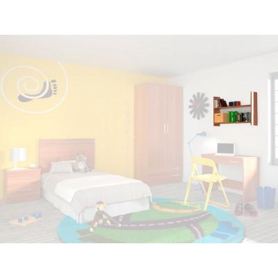 Estantería Dormitorio Juvenil Amarillo