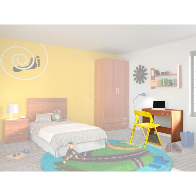 Escritorio Dormitorio Juvenil Amarillo