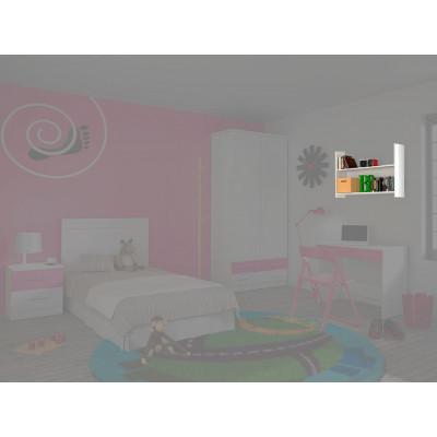 Estantería Dormitorio Juvenil Rosa