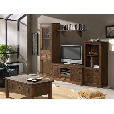 Mueble Salón Rústico Modelo 1
